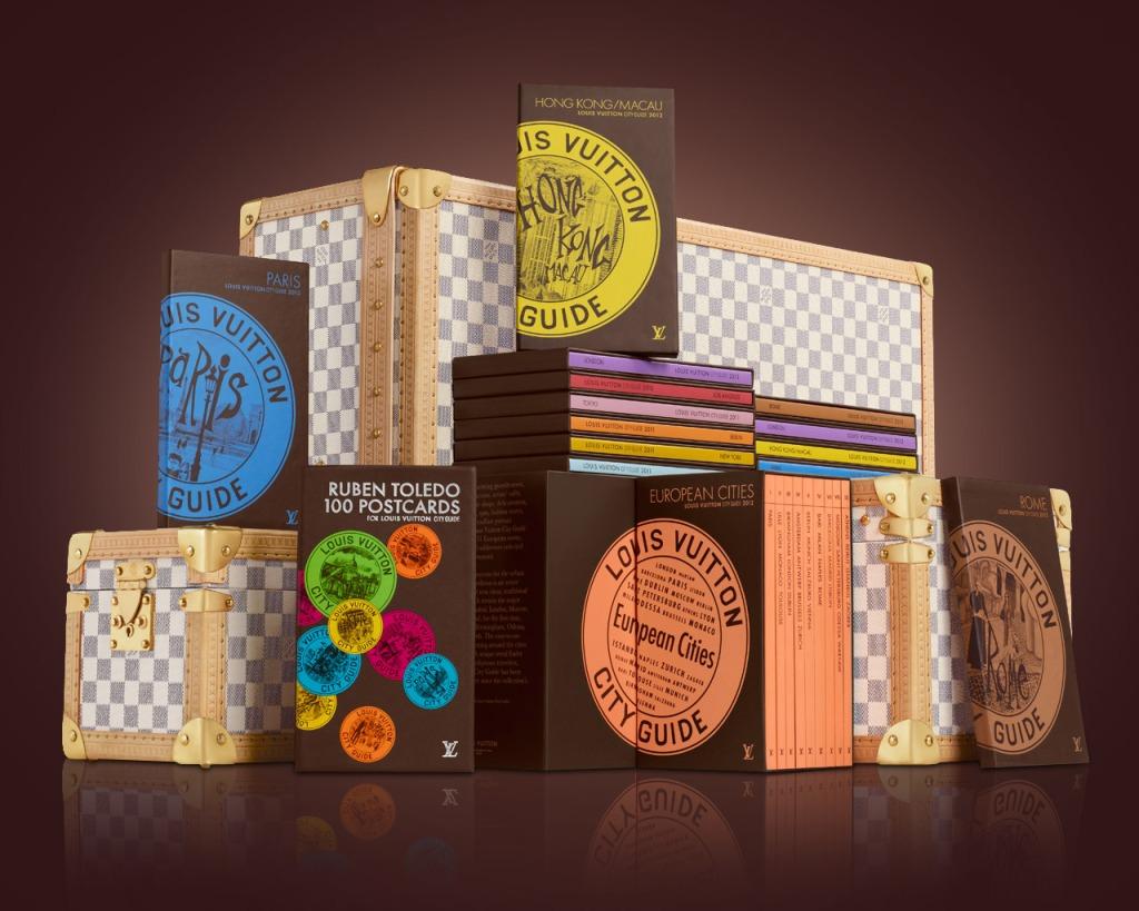 Louis Vuitton City Guide 2013 ou voir autrement New York, Paris, San Francisco et Tokyo selon @LouisVuitton