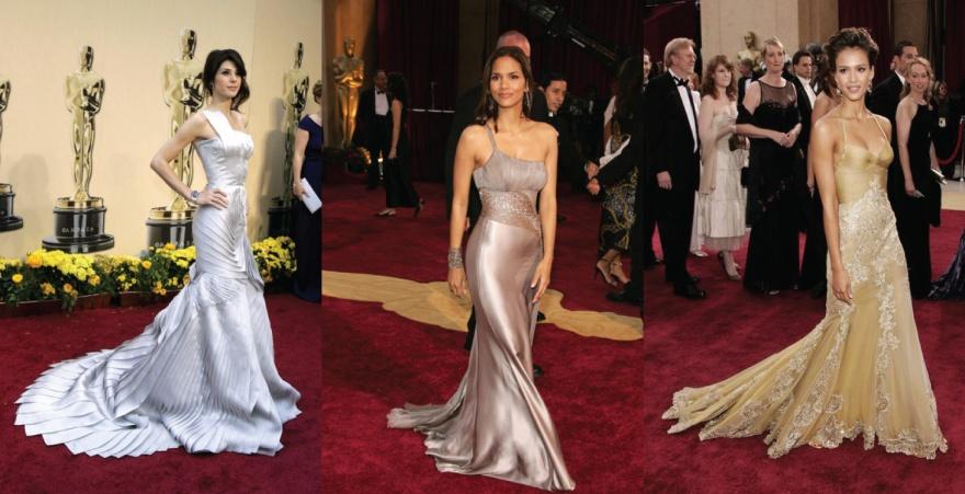 Marisa Tomei Halle Berry Jessica Alba Versace