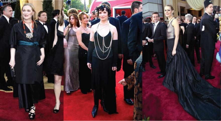 Meryl Streep Prada Juliette Binoche Jean Paul Gaultier Gwyneth Paltrow Alexander McQueen