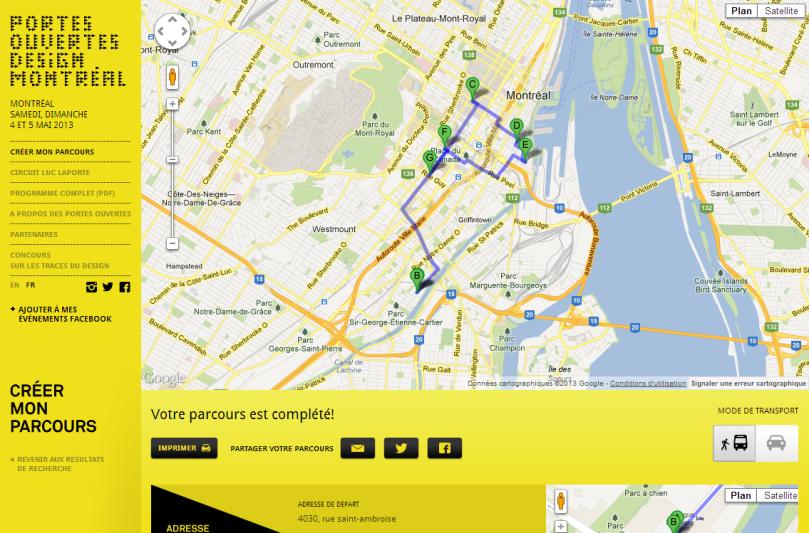 Créer mon parcours - Portes Ouvertes Design Montréal 2013(1)