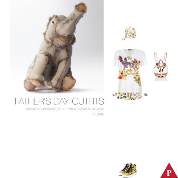 21096$ Fathers Day Outfits Inspired By Outsiders toys – Samuel Coendet & Lea Gerber