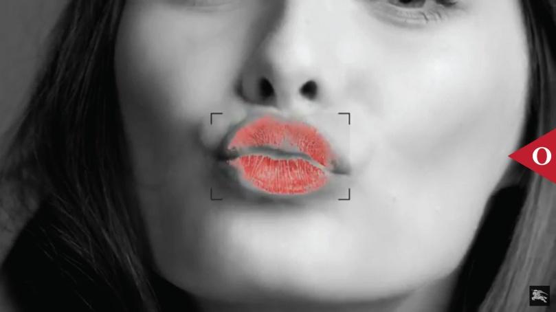 kisses burberry google