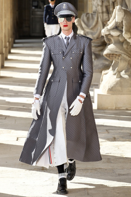LOOK11 SPRING 2014 MENSWEAR Thom Browne