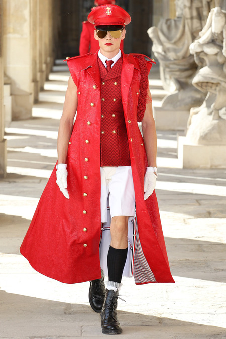LOOK22 SPRING 2014 MENSWEAR Thom Browne