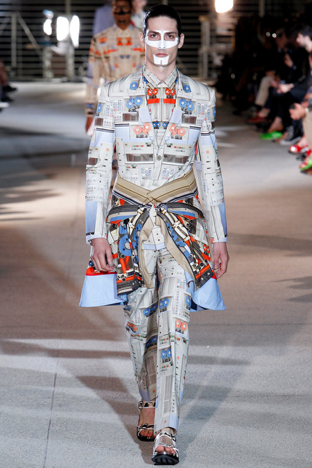 LOOK31 SPRING 2014 MENSWEAR Givenchy