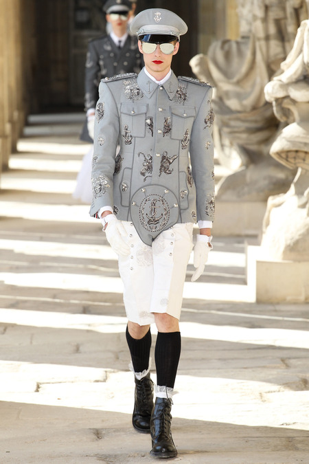 LOOK8 SPRING 2014 MENSWEAR Thom Browne