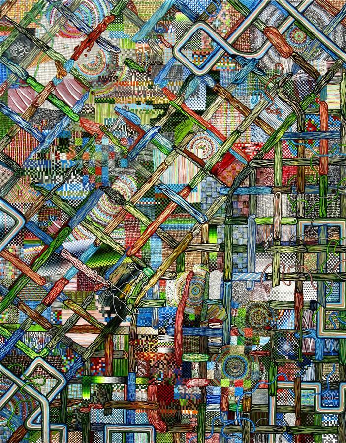 Stebbins2011-Lattice-14x11in