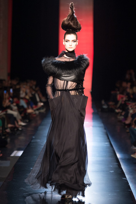 LOOK34 FALL 2013 COUTURE Jean Paul Gaultier Manon Leloup (MARILYN)
