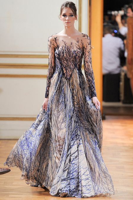 LOOK5 FALL 2013 COUTURE Zuhair Murad