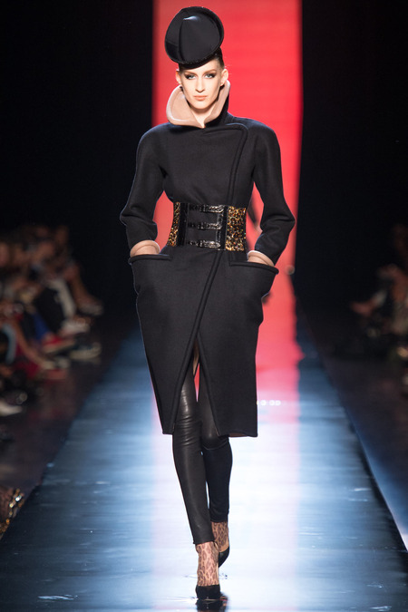 LOOK7 FALL 2013 COUTURE Jean Paul Gaultier Luca Adamik (NATHALIE)