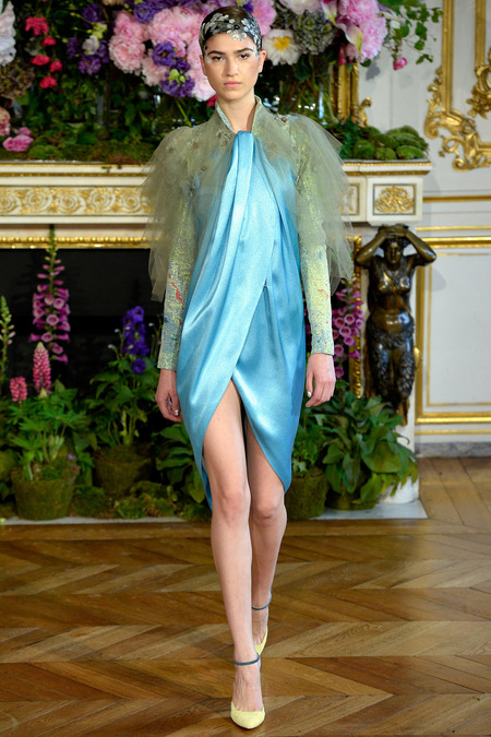 LOOK9 FALL 2013 COUTURE Alexis Mabille Marcele Dal Cortivo (OUI)