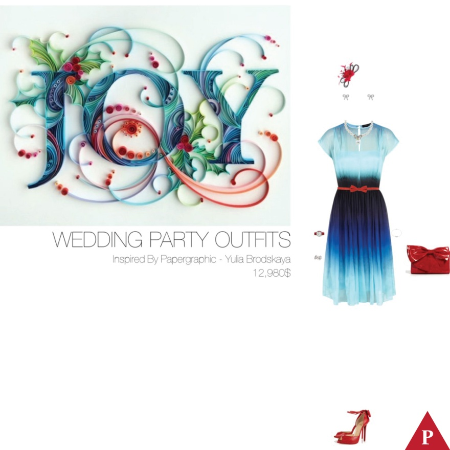 12 980$ Wedding Party Outfits Inspired By Papergraphic – Yulia Brodskaya