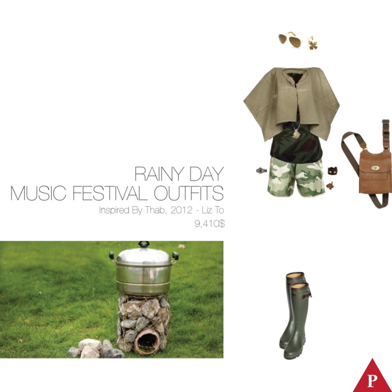9410$ Rainy Day Music Festival Outfits Inspired By Thab – Liz To