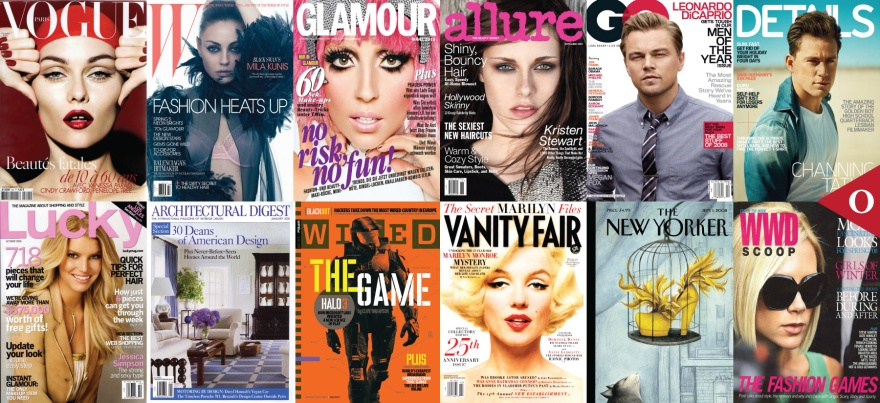 Condé Nast Publications Vogue W Glamour Allure GQ Details Lucky Architectural Digest Wired Vanity Fair The New Yorker WWD