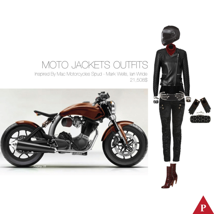 21508$ Moto Jackets Outfits Inspired By Mac Motorcycles Spud – Mark Wells Ian Wride