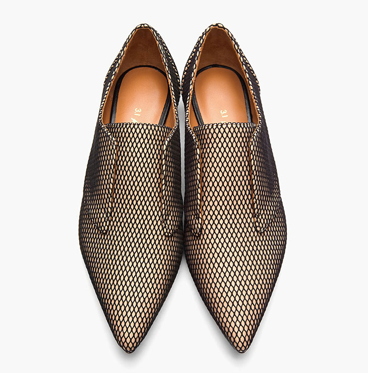 3.1-Phillip-Lim-Nude-Leather-Nancy-Fishnet-Derby-Flats-05