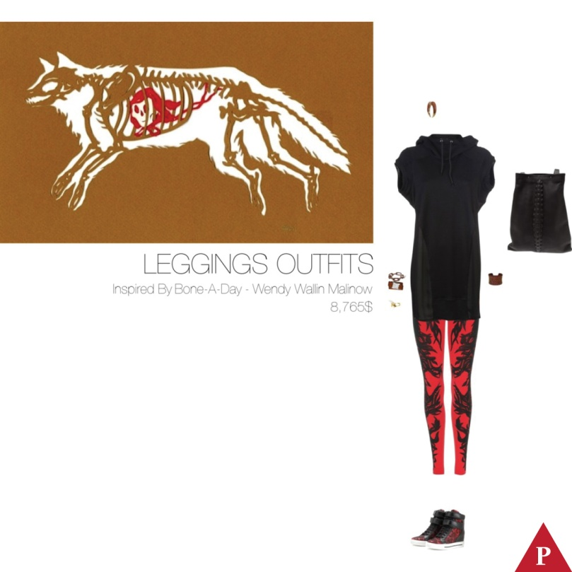 8765$ Leggings Outfits Inspired By Bone-A-Day – Wendy Wallin Malinow