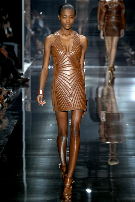 LOOK2 SPRING 2014 READY-TO-WEAR Tom Ford Betty Adewole
