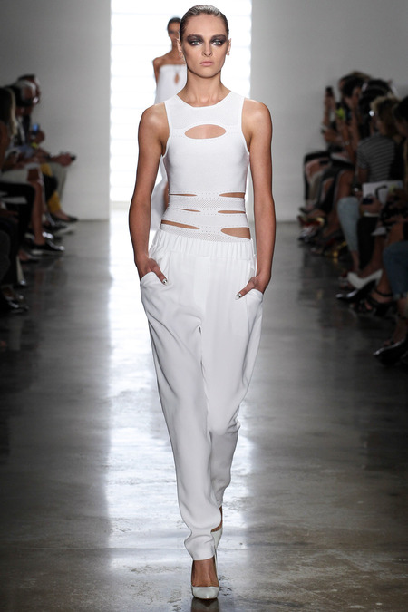 LOOK4 SPRING 2014 READY-TO-WEAR Cushnie et Ochs