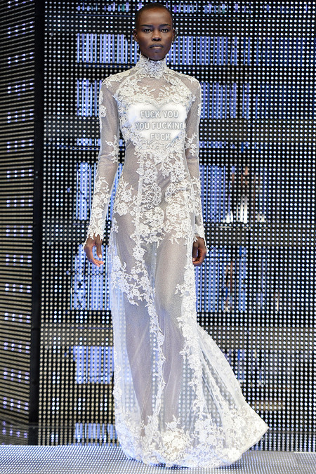 LOOK41 SPRING 2014 READY-TO-WEAR Philipp Plein