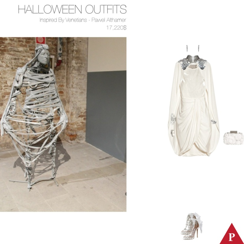17220$ Halloween Outfits Inspired By Venetians – Pawel Althamer
