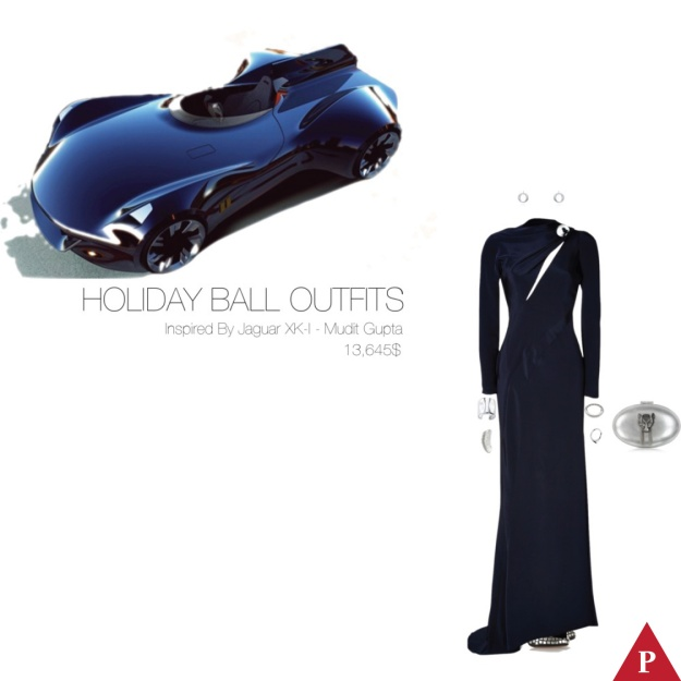 13645$ Holiday Ball Outfits Inspired By Jaguar XK-I – Mudit Gupta