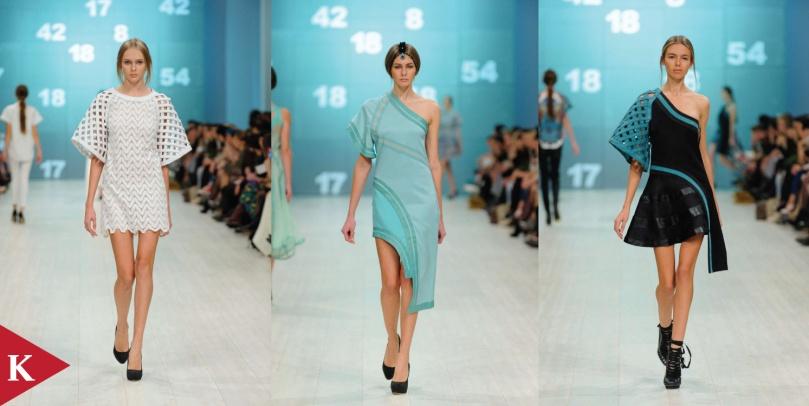 Kiev Fashion Week - Spring 2014 - Valery Kovalska