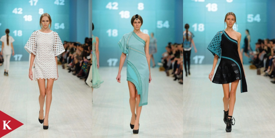 Kiev Fashion Week - Spring 2014 - Valery Kovalska