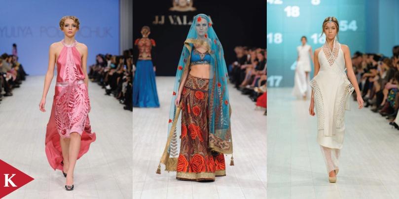Kiev Fashion Week - Spring 2014 - Yuliya Polishchuk - Jj Valaya - Valery Kovalska