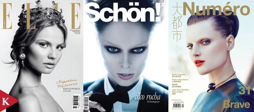 Jessica Stam-Vogue Ukraine-Chad Pitman - Coco Rocha-Schön-Rayan Ayash - Guinevere van Seenus-Numero China-Txema Yeste