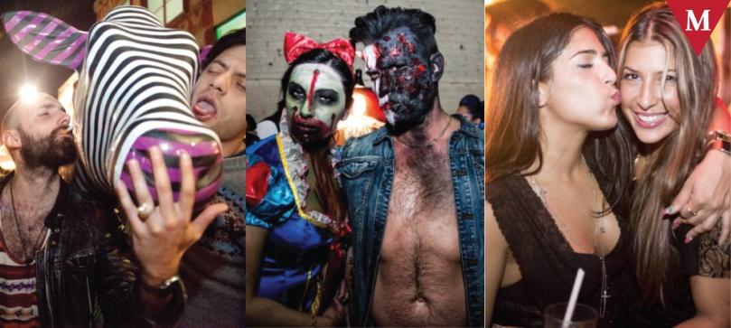 Nuit Chromatic 2013 - Goregasm Party by Cirque De Boudoir - LUXE Party