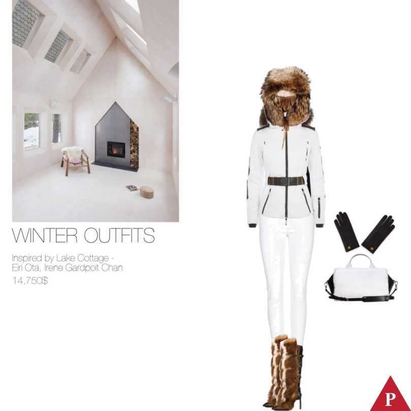 14750$ Winter Outfits Inspired by Lake Cottage – Eiri Ota, Irene Gardpoit Chan