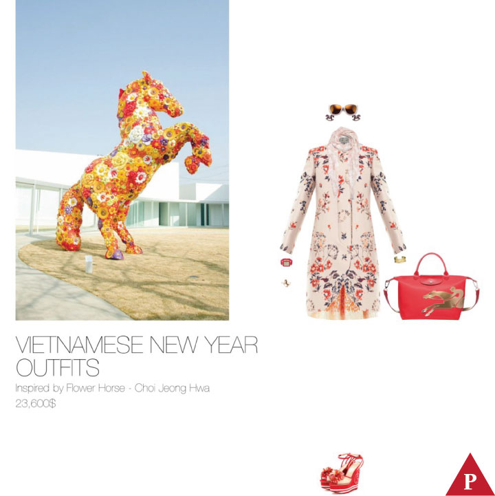 23600$ Vietnamese New Year Outfits Inpired by Flower Horse – Choi Jeong Hwa