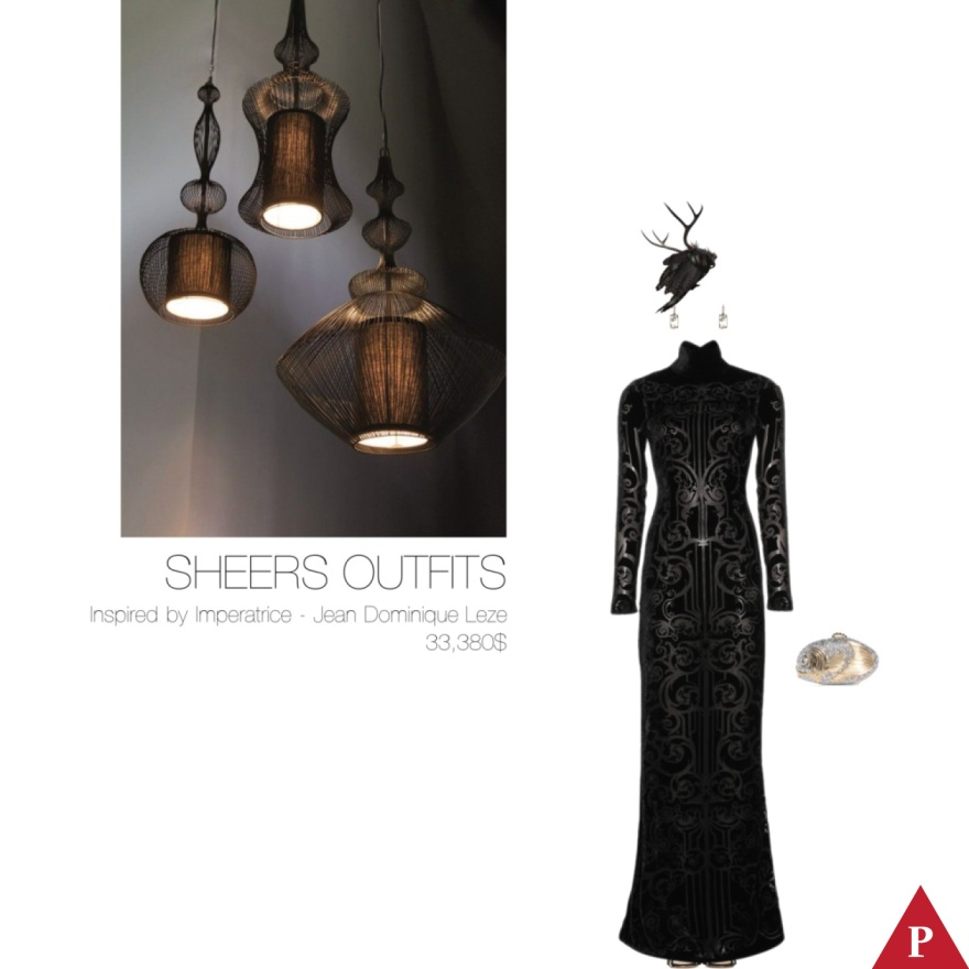 33380$ Sheers Outfits Inspired by Imperatrice – Jean Dominique Leze