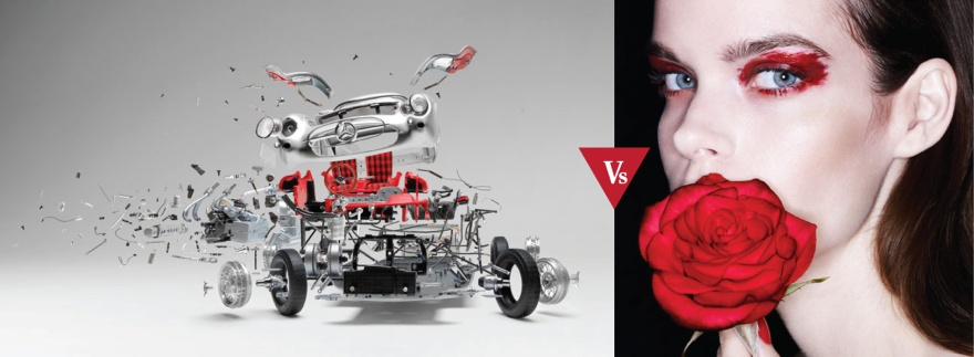 Art #VsFashion - Red Drift feat. Fabian Oefner - Nagi Sakai