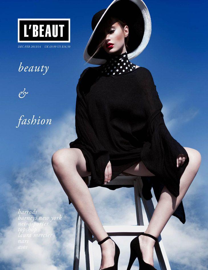 Hayley Schnakenberg for L'Beaut Magazine February 2014 by Oriana Layendecker