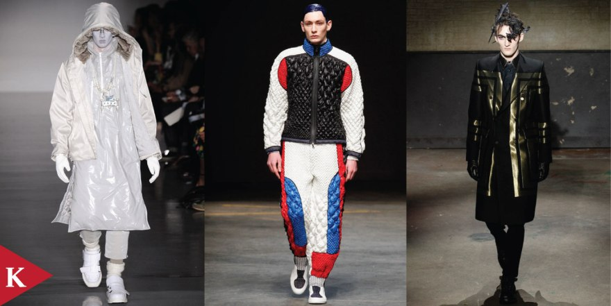 London FashionWeek - FALL 2014 - MENSWEAR - KTZ - James Long - Alexander McQueen