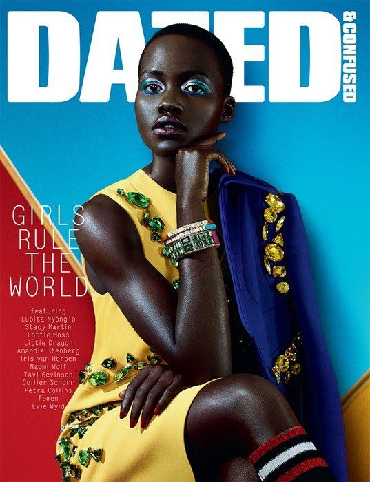 Lupita Nyong'o for Dazed & Confused February 2014 by Sharif Hamza