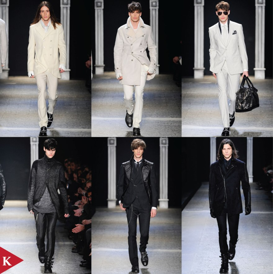 Milan FashionWeek - FALL 2014 MENSWEAR John Varvatos