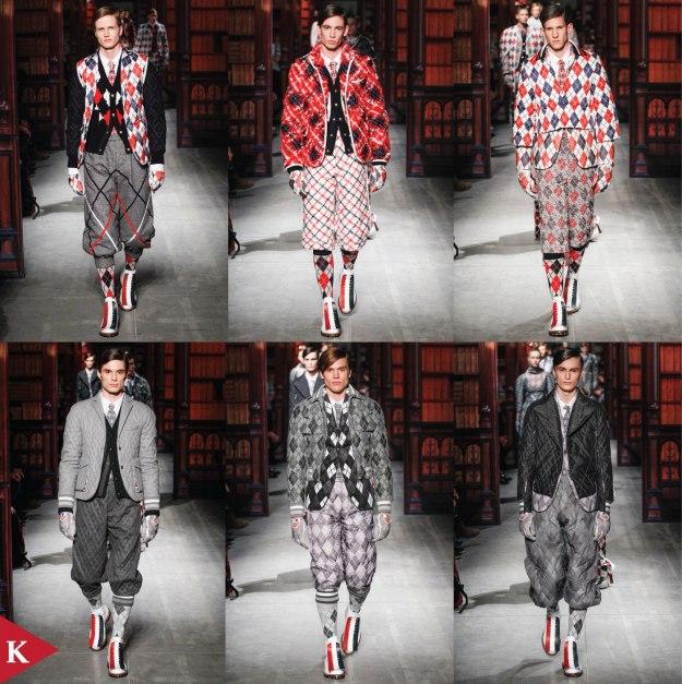 Milan FashionWeek - FALL 2014 MENSWEAR Moncler Gamme Bleu