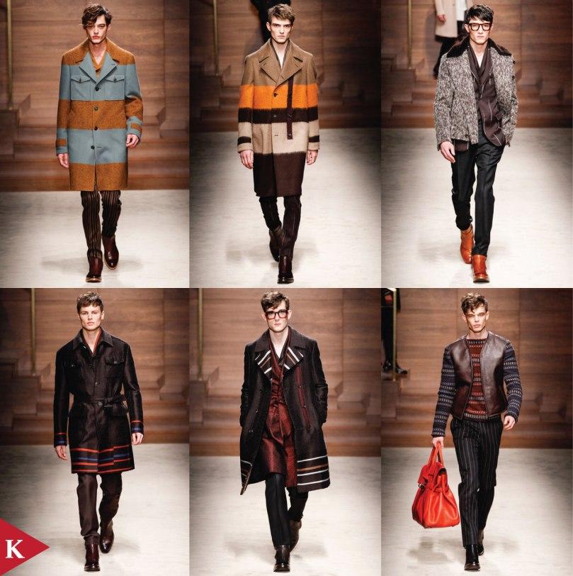 Milan FashionWeek - FALL 2014 MENSWEAR Salvatore Ferragamo