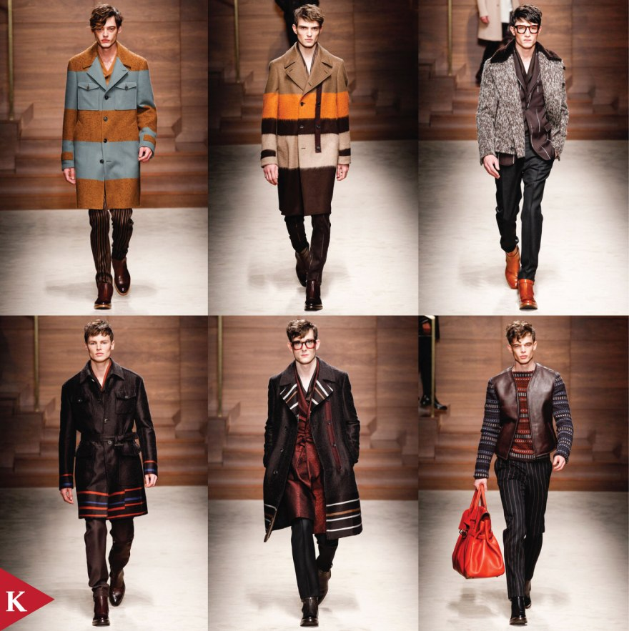 Milan FashionWeek - FALL 2014 MENSWEAR Salvatore Ferragamo