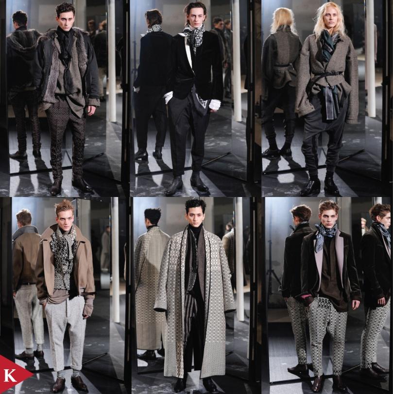 Paris FashionWeek - FALL 2014 - MENSWEAR - Haider Ackermann