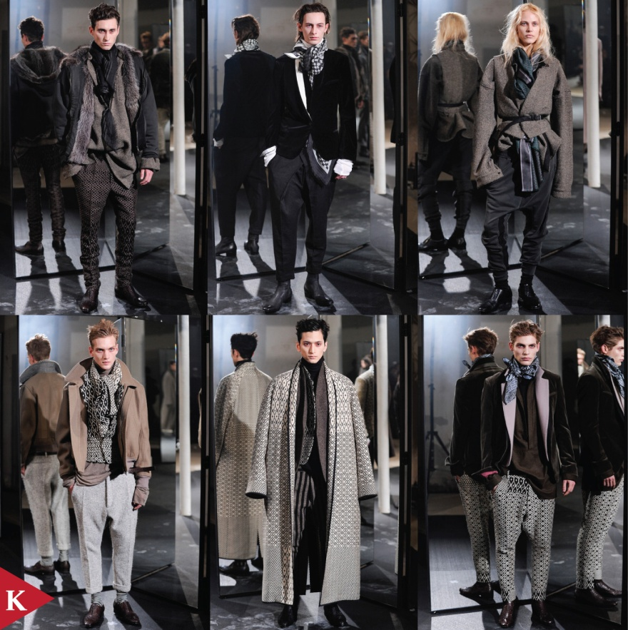 Paris FashionWeek - FALL 2014 - MENSWEAR - Haider Ackermann