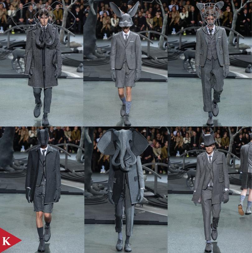 Paris FashionWeek - FALL 2014 - MENSWEAR - Thom Browne