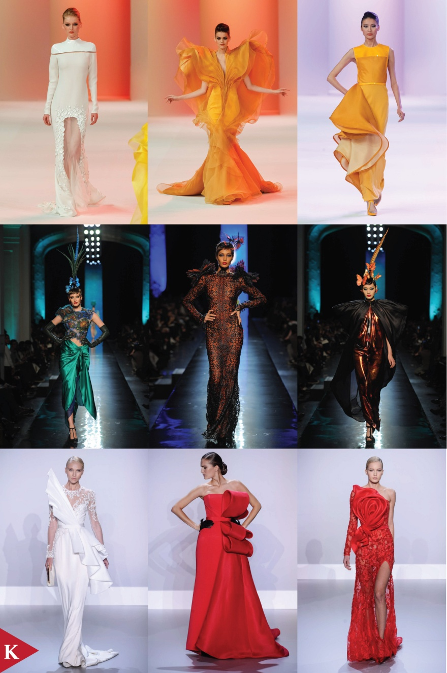 Paris FashionWeek - SPRING 2014 - HAUTE COUTURE - Stephane Rolland - Jean Paul Gaultier - Ralph & Russo