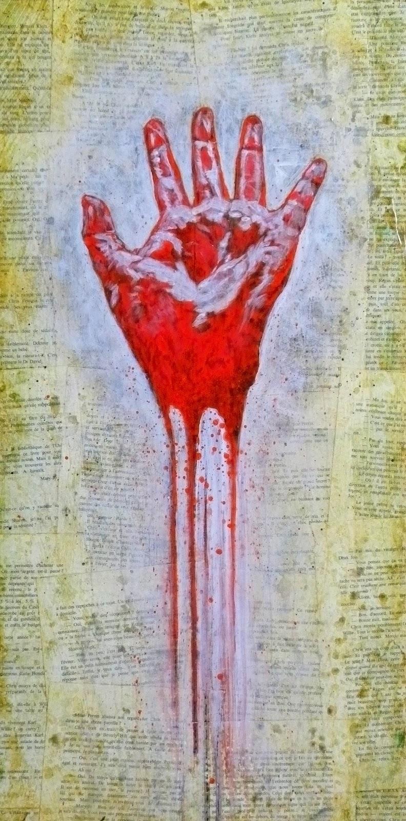 red hand GF