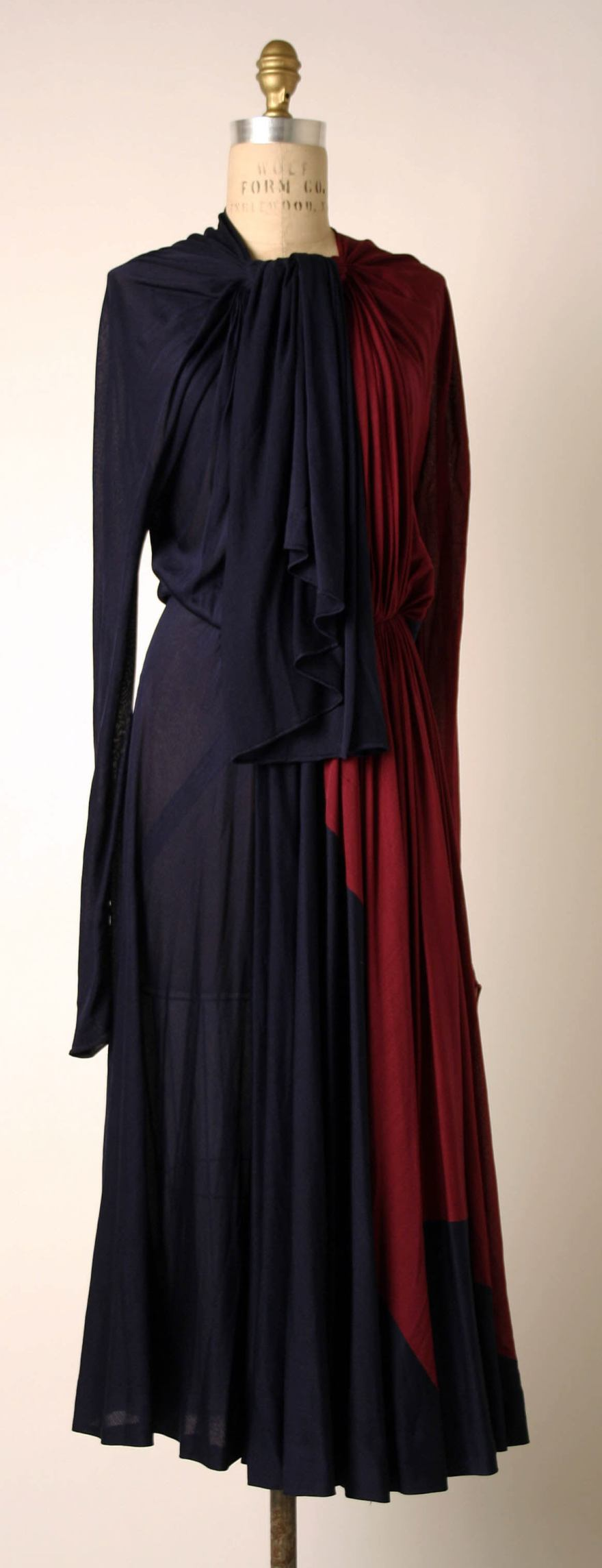 Afternoon dress Madame Grès (Alix Barton) (French, Paris 1903–1993 Var region)