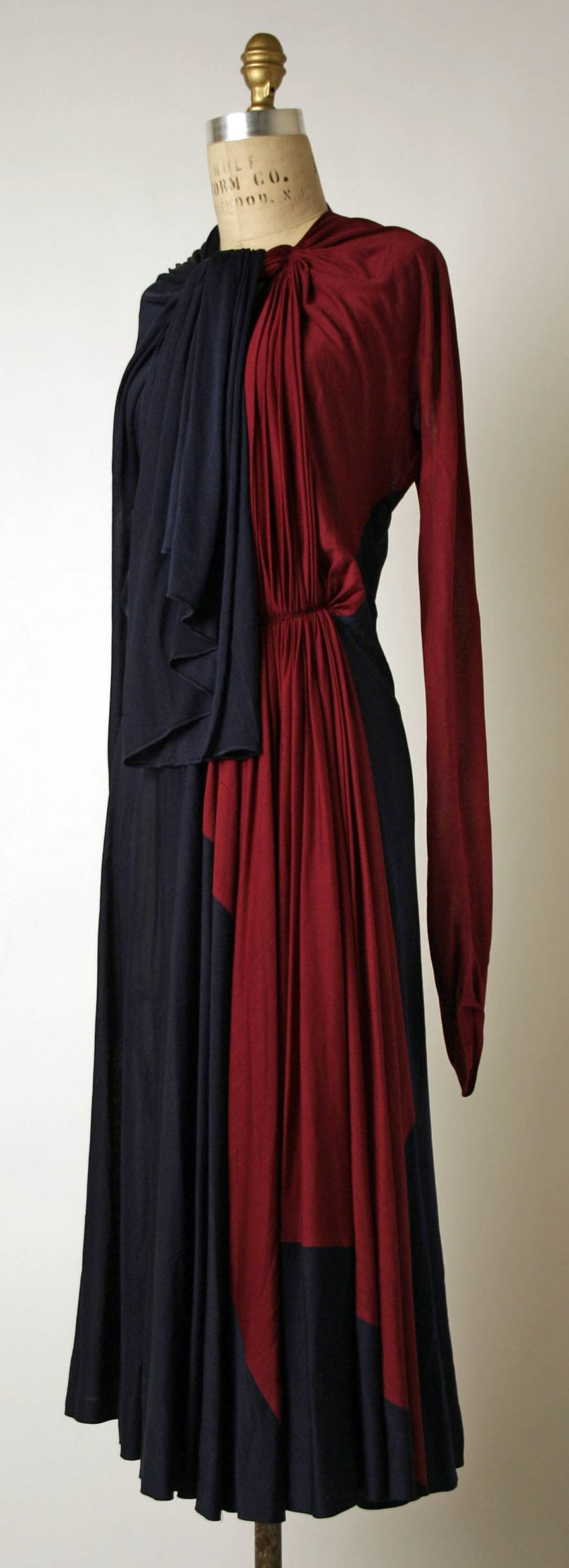Afternoon dress Madame Grès (Alix Barton) (French, Paris 1903–1993 Var region)3