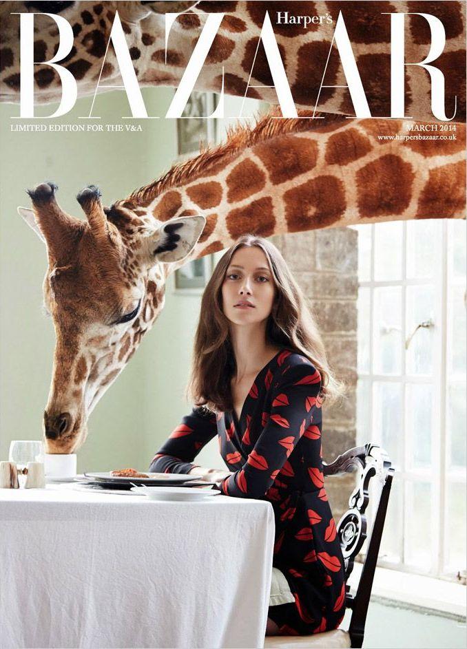 Alana Zimmer for Harper's Bazaar UK March 2014 by Liz Collins